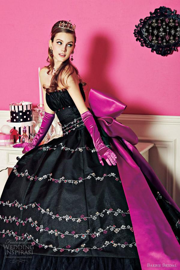 Short Purple Wedding Dress 67 Good barbie bridal princess wedding