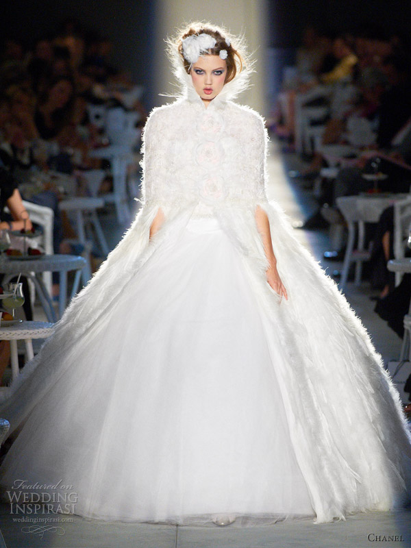Chanel Fall/Winter 2012-2013 Couture | Wedding Inspirasi