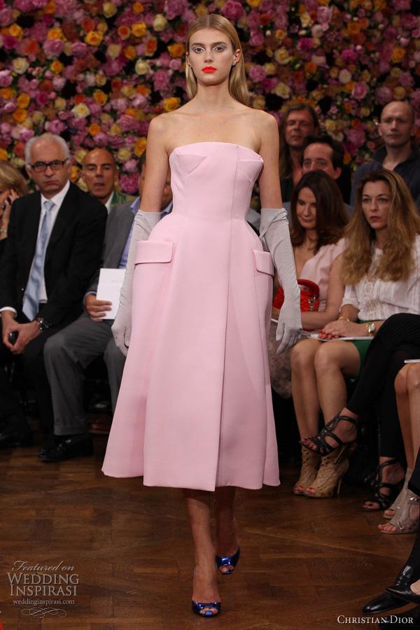 Christian Dior Fall 2012 Couture Wedding Inspirasi