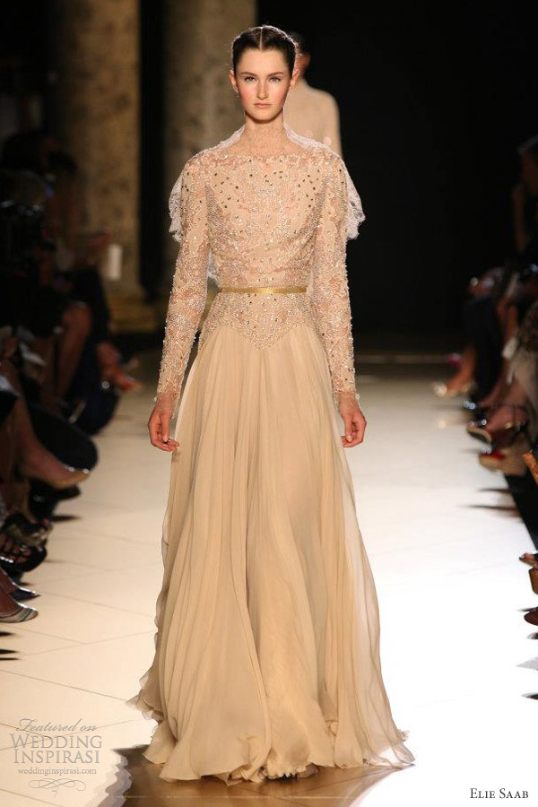 elie saab fallwinter 20122013 couture wedding