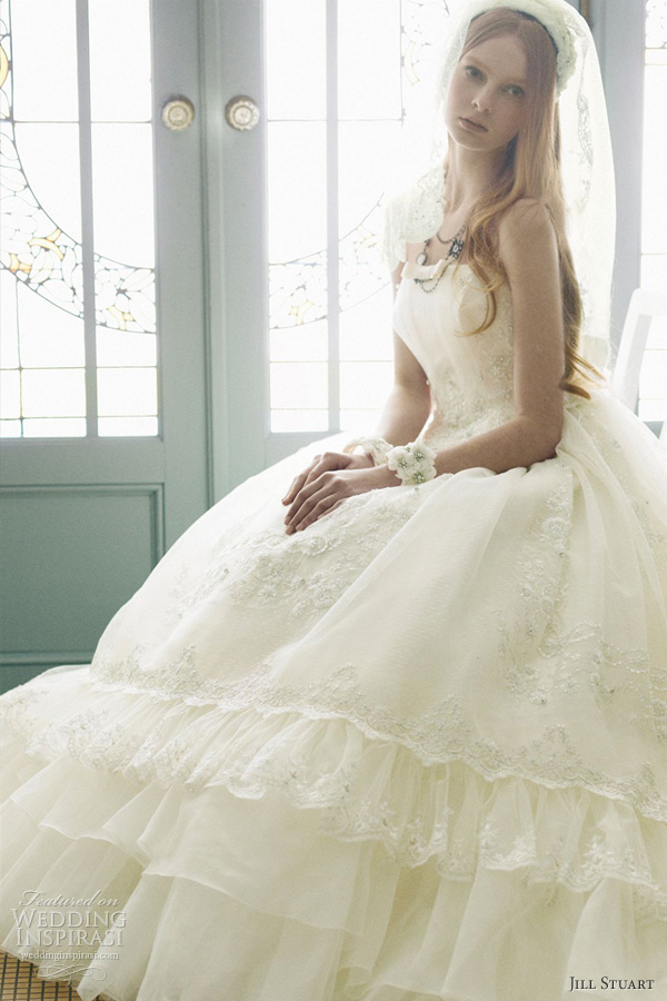 Jill Stuart Wedding Dresses 2012 — The Eighth Collection | Wedding ...