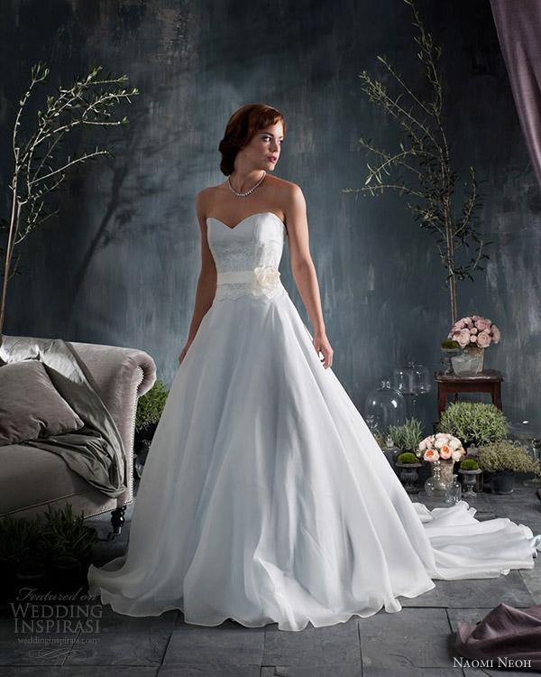 Silver Wedding Gowns: Naomi Neoh Wedding Dresses