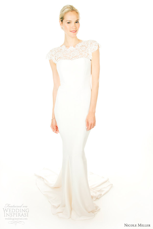 Nicole miller wedding dresses fall 2012 wedding inspirasi for Nicole miller dresses wedding