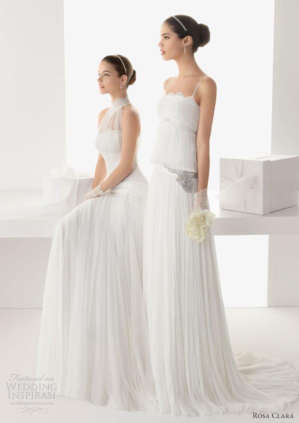 rosa clara 2013 bailen balear lace tulle gown