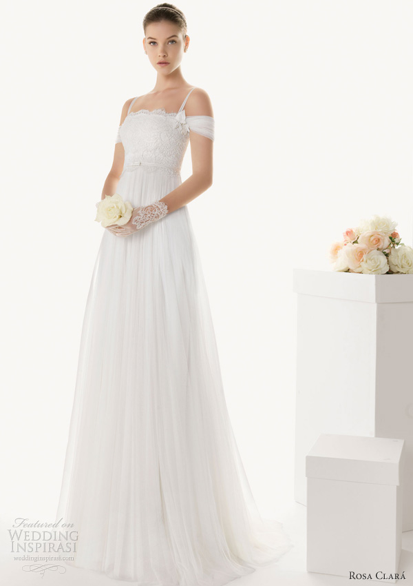 rosa clara 2013 barbara empire wedding dress