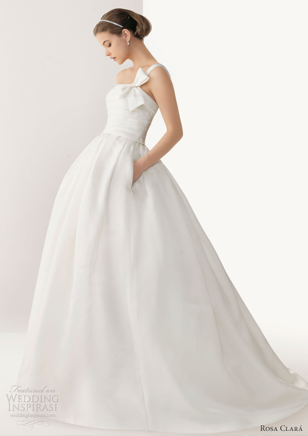 rosa clara 2013 bari ball gown wedding dress pockets