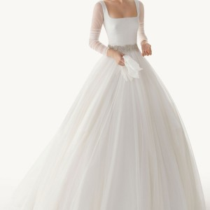 rosa clara 2013 belinda ball gown wedding dress long sleeves