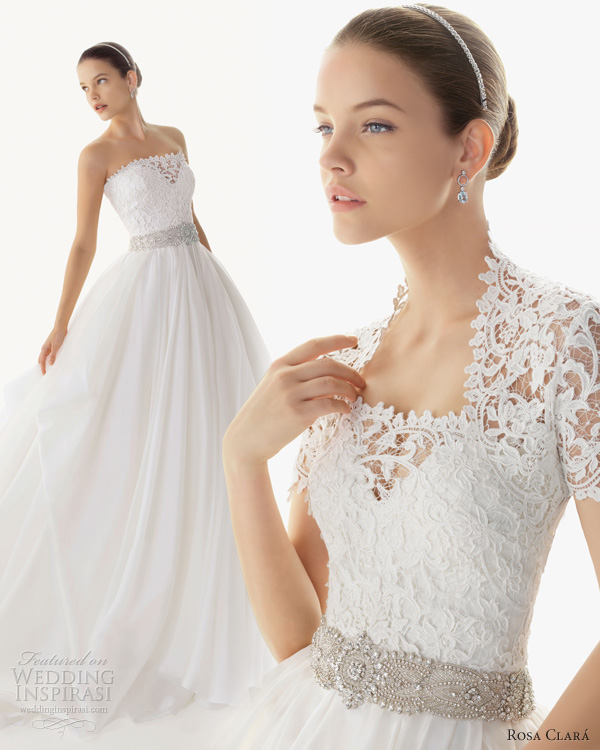 Wedding Gown 2013: Rosa Clará 2013 Wedding Dresses