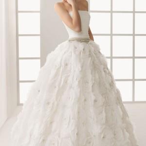 rosa clara bridal 2013 two donatella wedding dress ball gown