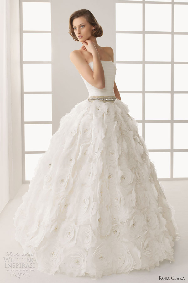 rosa clara bridal 2013 two donatella wedding dress ball gown