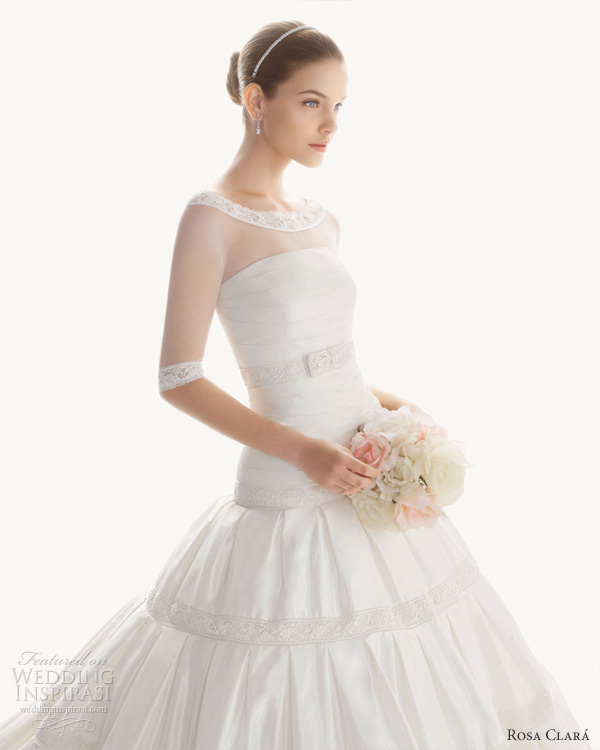 Vintage Wedding Dresses Miami: Rosa Clará 2013 Wedding Dresses