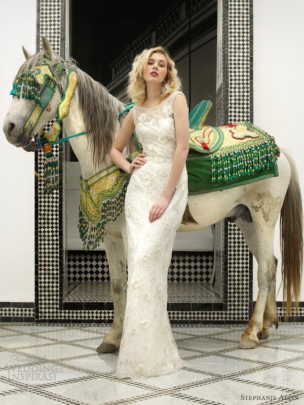 stephanie allin bridal 2013 serenade sleeveless wedding dress
