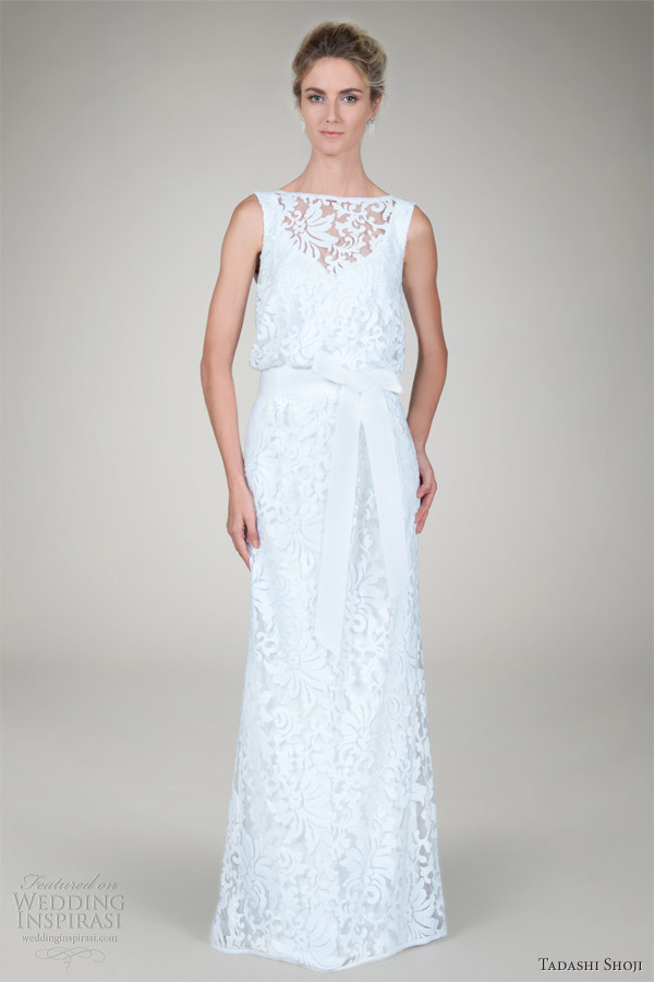 Tadashi Shoji Wedding Dresses 2012 Wedding Inspirasi