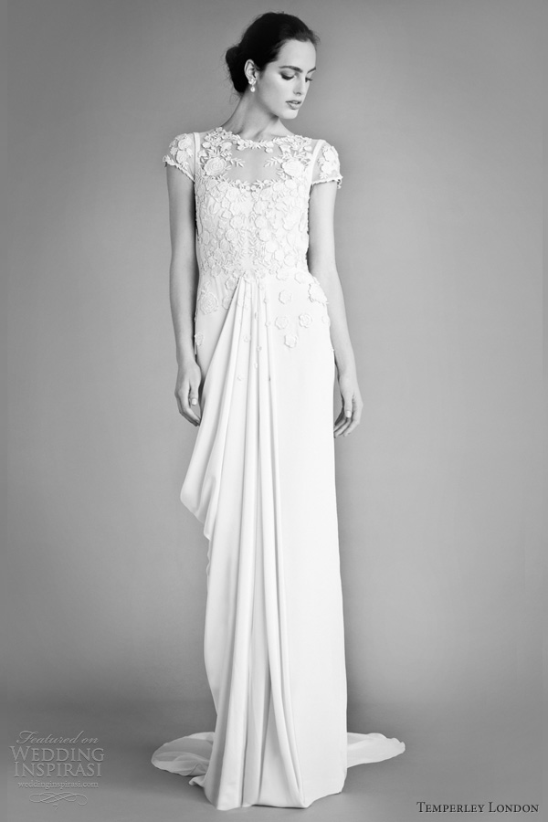 temperley london fall 2012 bridal laelia wedding dress sleeves