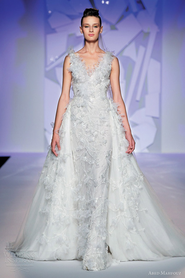 Abed Mahfouz Fall 2012 Couture Wedding Dress