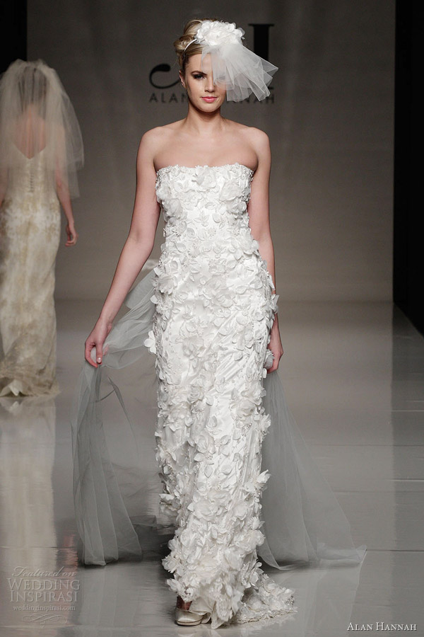 Alan Hannah Wedding Dresses 2013 Classic Beauty Bridal