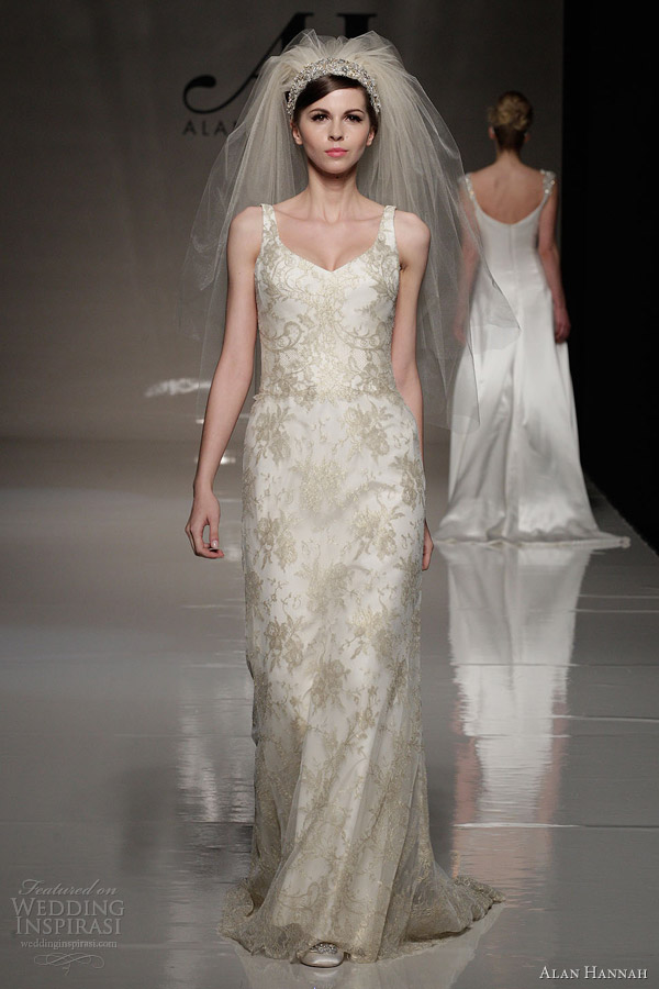 Alan Hannah Wedding Dresses 2013 Classic Beauty Bridal