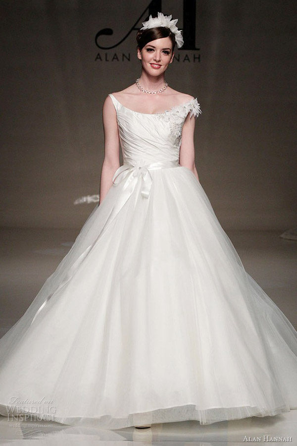 alan hannah 2013 white gallery alice ball gown wedding dress