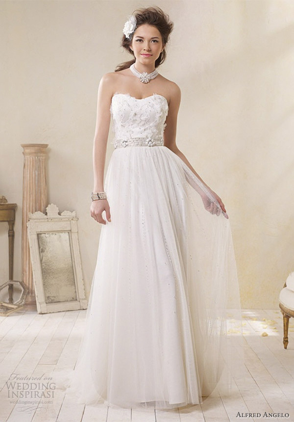 Alfred Angelo Modern Vintage Bridal Collection | Wedding Inspirasi