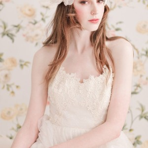 enchanted atelier spring 2013 bridal accessories dauphine lace cap