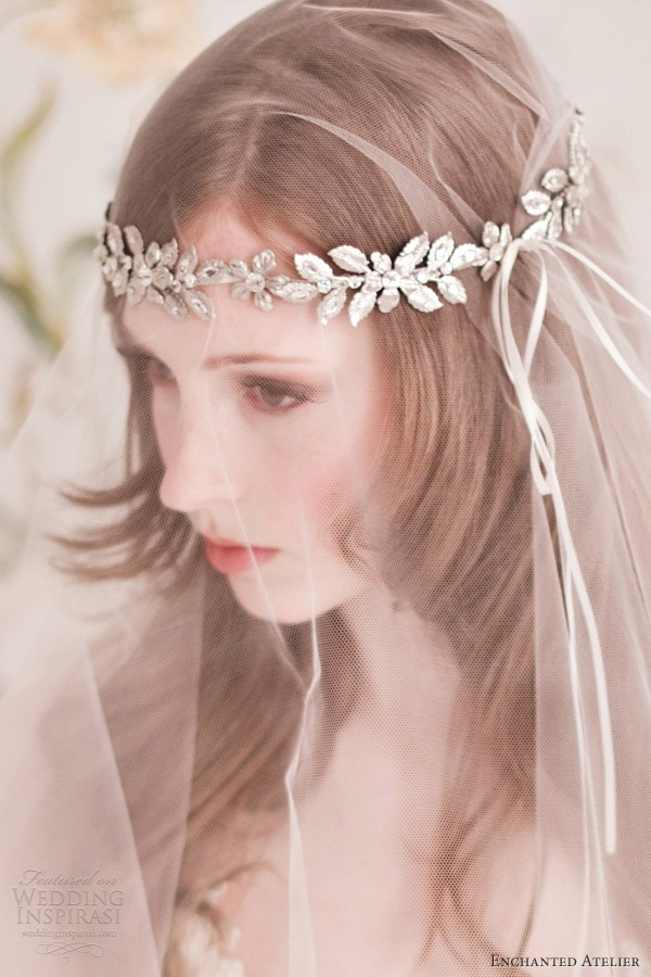 enchanted atelier spring 2013 bridal accessories gabriella halo tiara