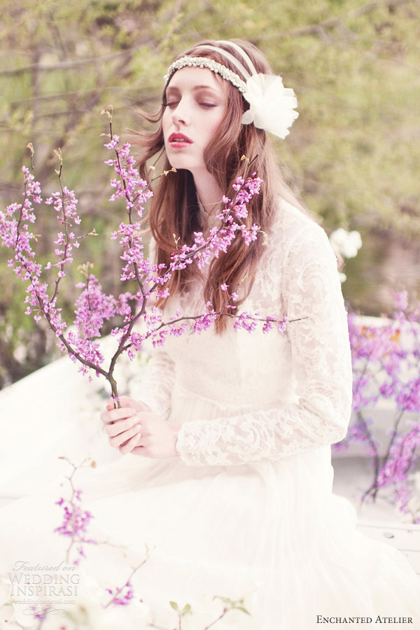 enchanted atelier spring 2013 bridal hair accessories aleksandra headband