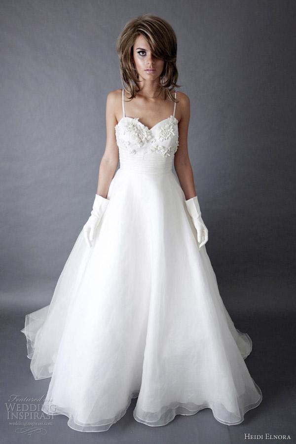 Organza A Line Wedding Dress 30 Perfect heidi elnora spring wedding