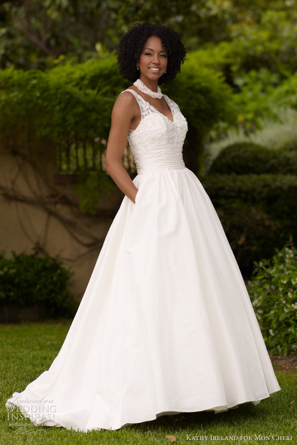 Wedding Dresses Prices Ireland : Kathy ireland for mon cheri spring preview fall