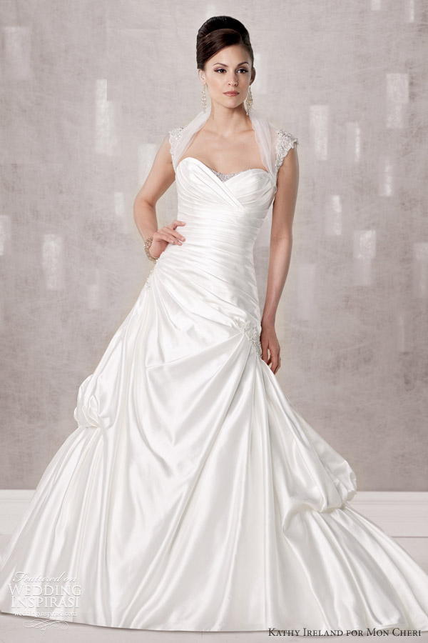 Wedding Dresses Prices Ireland : Kathy ireland for mon cheri spring preview fall