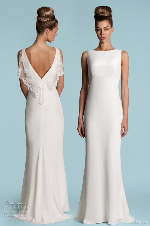 Lara Hannah Wedding Dresses Spring 2013