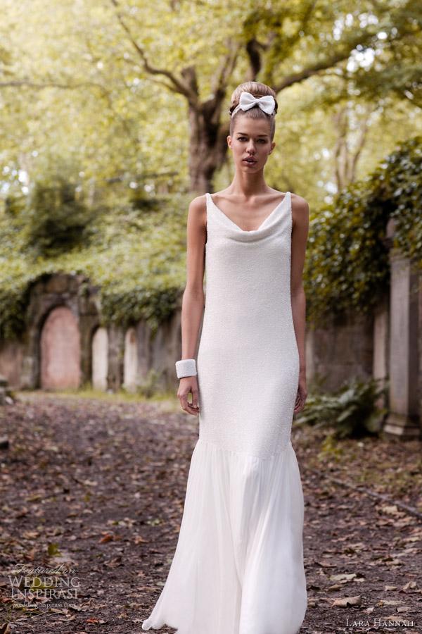 Lara Hannah Wedding Dresses Spring 2013 Wedding Inspirasi