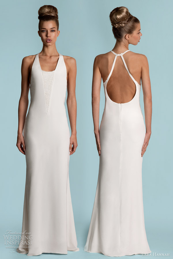 Lara Hannah Wedding Dresses Spring 2013 Wedding