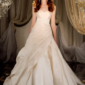 martina liana 2012 2013 wedding dresses silk ivory ball gown 412
