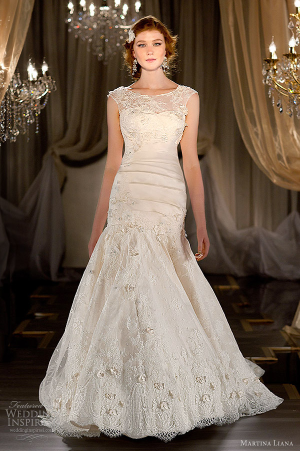 martina liana wedding dresses fall 2012 2013 style 414