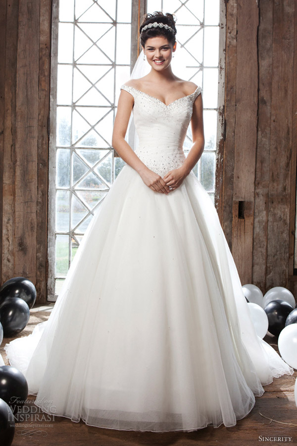 Sincerity Bridal 2013 Wedding Dresses  Wedding Inspirasi