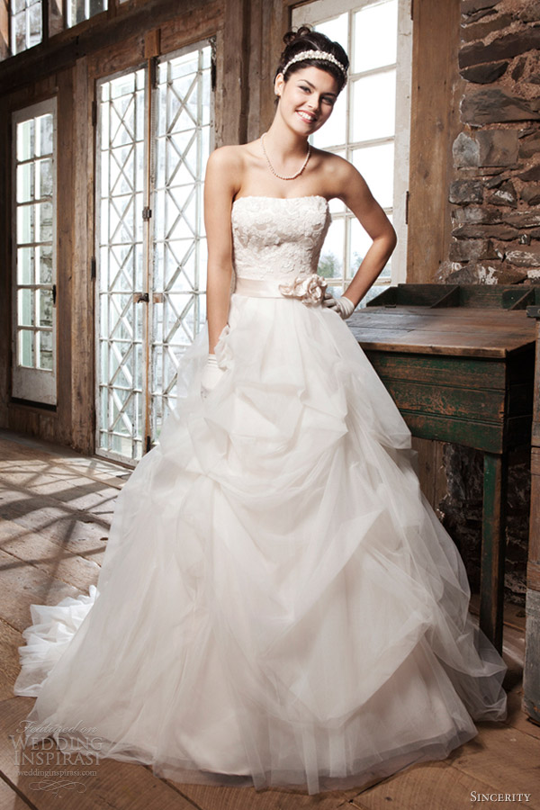 Sincerity Bridal 2013 Wedding Dresses | Wedding Inspirasi