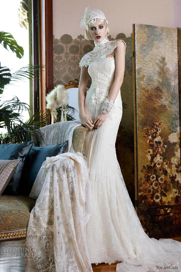 yolan cris vintage 2013 wedding dresses albania
