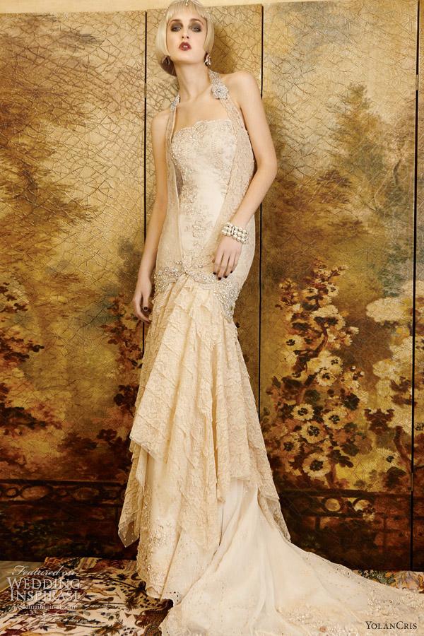 Vintage Lace Wedding Gowns Sydney : Yolancris wedding dresses mademoiselle vintage