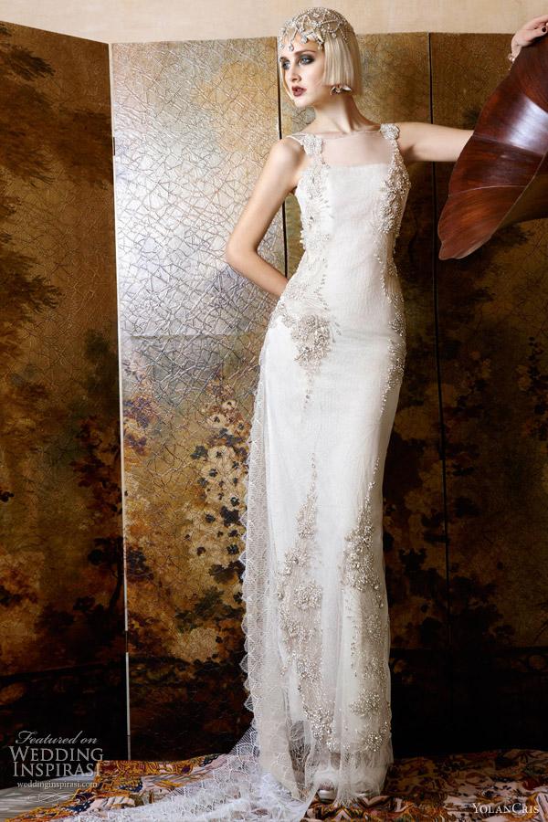 yolancris wedding dresses 2013 italia jeweled bridal gown