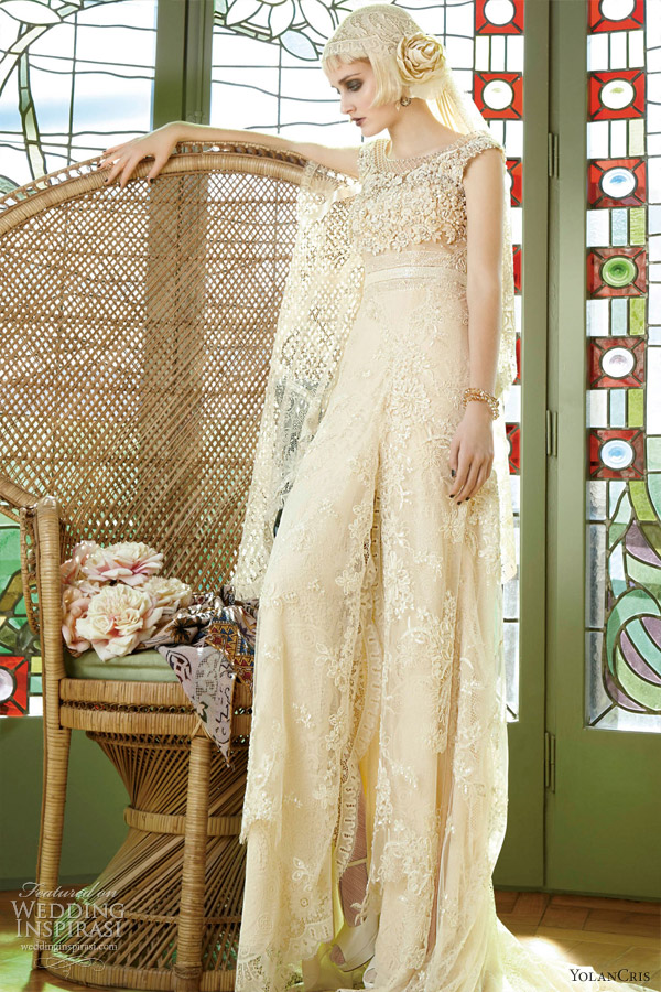 yolancris wedding dresses 2013 malasia floral gown embellished top