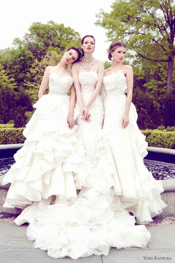 yumi katsura spring 2013 wedding dresses kinzei kazan hikaru