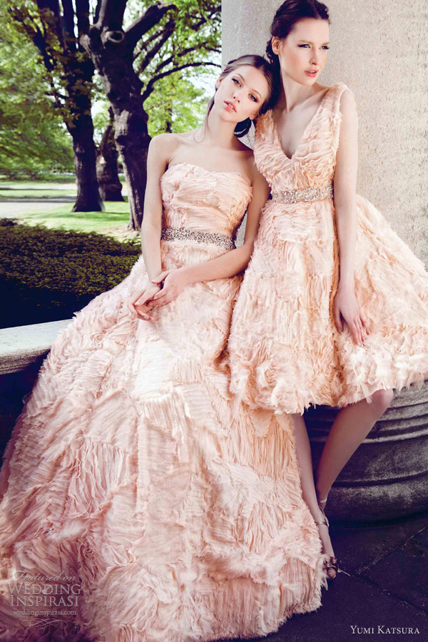 yumi katsura wedding dresses spring 2013 kaji strapless a line gown kana