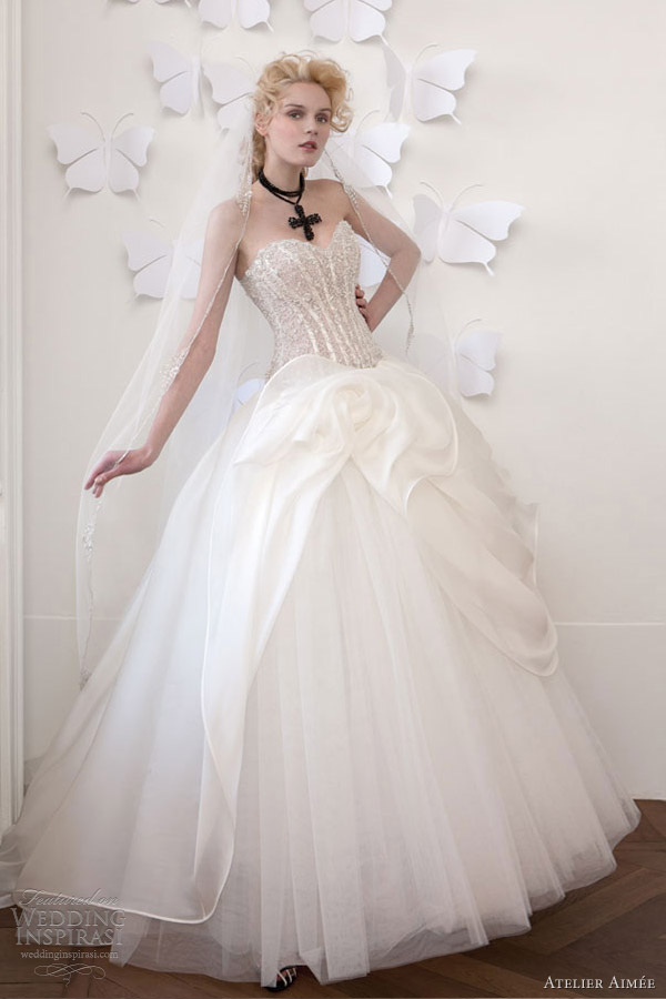 atelier aimee wedding dresses 2013 bridal collection
