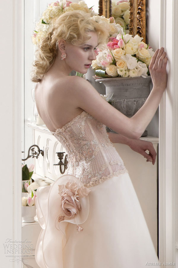 atelier aimee wedding dresses 2013 bridal strapless a line gown beaded bodice