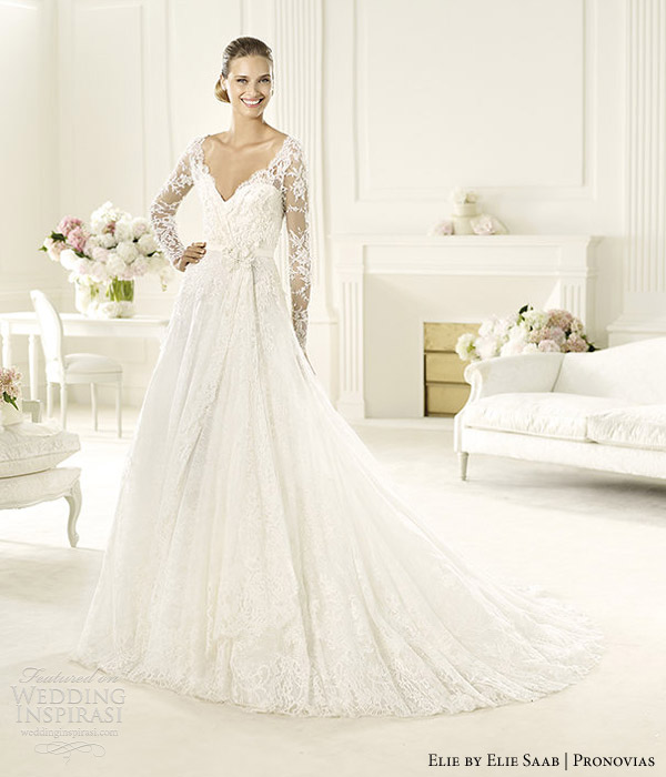 Elie By Elie Saab 2013 Collection For Pronovias Wedding Inspirasi Page 2