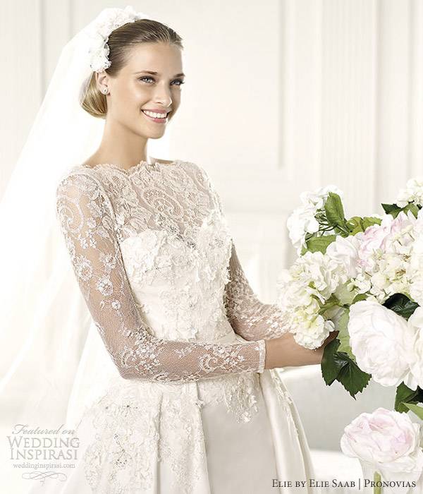 d9c9bb22ec00d Elie By Elie Saab 2013 Collection for Pronovias | Wedding Inspirasi