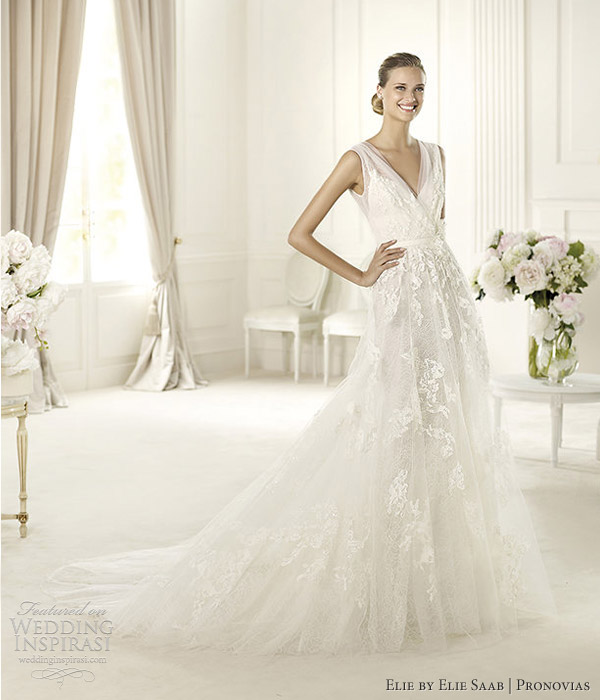 Wedding Gown Elie Saab: Elie By Elie Saab 2013 Collection For Pronovias