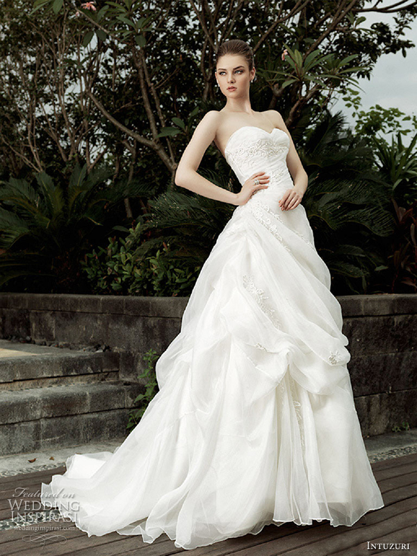 intuzuri wedding dress 2013 arden bridal gown dresses sweetheart neckline strapless