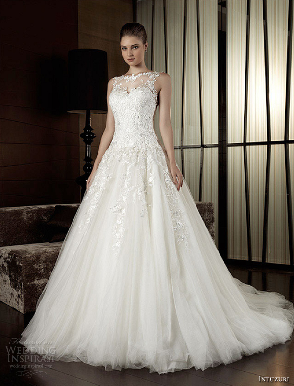 intuzuri wedding dresses 2013 adoncia strapless bridal gowns