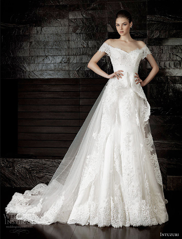 intuzuri wedding dresses 2013 aracelia bridal gowns